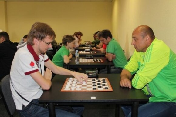 Pasaulio lietuvių sporto žaidynių šaškių varžybos