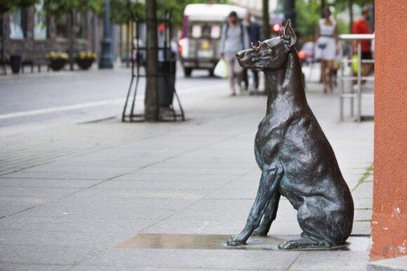 """Skulptūra """"Šuo"""""""