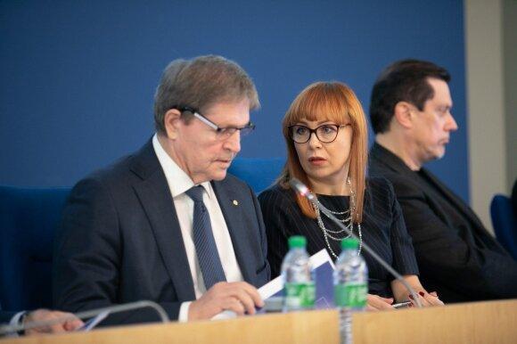 Švietimo ir mokslo komiteto posėdis su Jurgita Petrauskiene