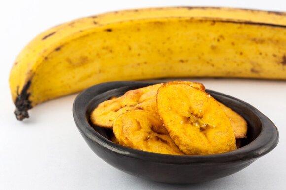 Džiovinti bananai
