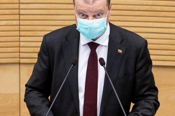 Skvernelis: palyginti su Švedija, mes pasirinkome subalansuotą variantą