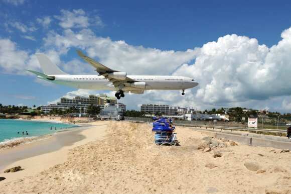 Princesės Julianos tarptautinis oro uostas San Marteno saloje