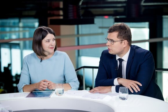 Gintarė Skaistė, Laurynas Kasčiūnas