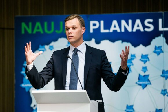 Gabrielius Landsbergis and his party's congress