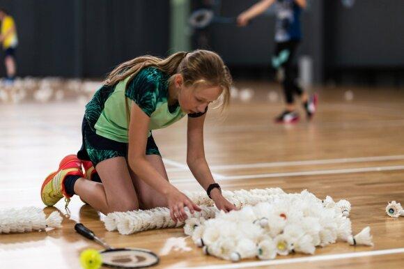 Badmintonas / Foto: O. Mikulskytė