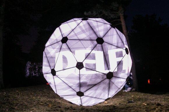 """Šviesų festivalis """"Beepositive 2016"""""""