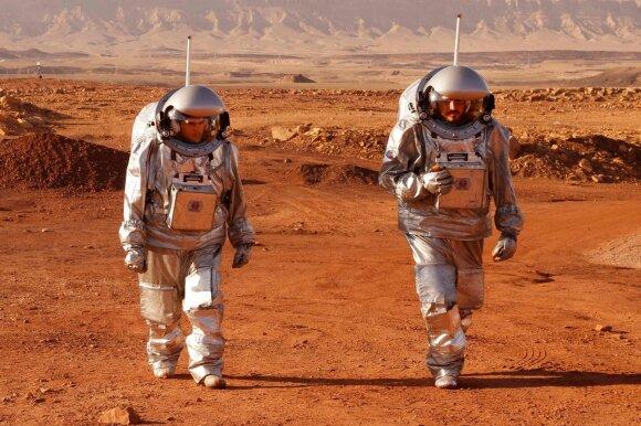 Marso imitacijos eksperimentas.