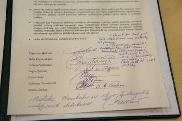 Prezidento rinkimai įsibėgėja: demaršas prieš D. Grybauskaitę