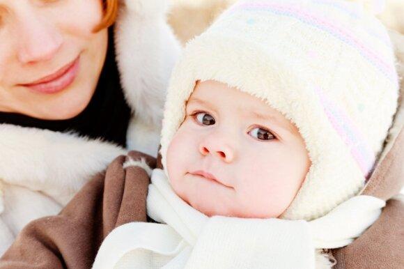 Kaip aprengti kūdikį šaltuoju metų laiku