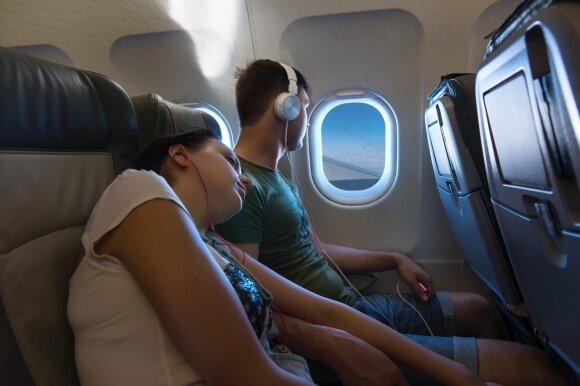 Etiketas lėktuve: kas labiausiai erzina keleivius