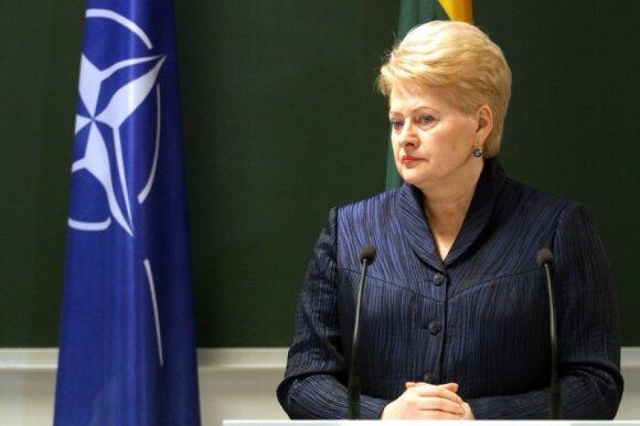 Baltijos šalių prezidentai: D. Grybauskaitė tikrai išsiskyrė