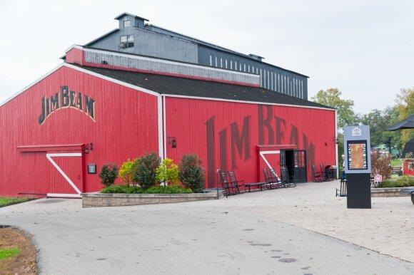Jim Beam viskio gamykla