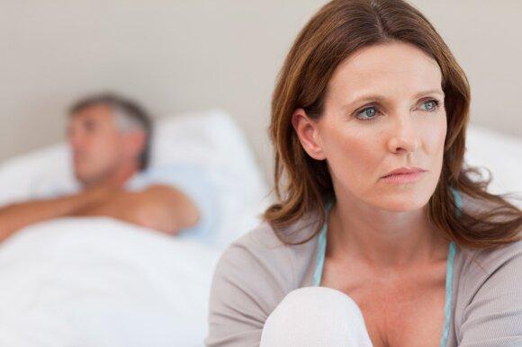 Kaip pakinta porų seksualinio gyvenimo intensyvumas po 5, 10, 20 ar daugiau kartu praleistų metų