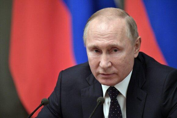 Putinas stebėjo naujo ultragarsinio ginklo bandymą