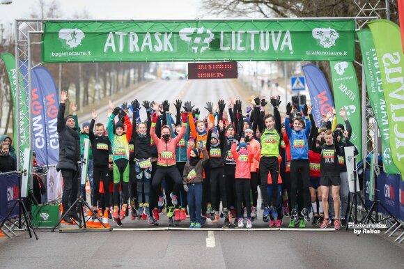 "Bėgimas ""Obeliskas A. Kulviečiui – Jonava"" /  FOTO: Rokas Lukoševičius"