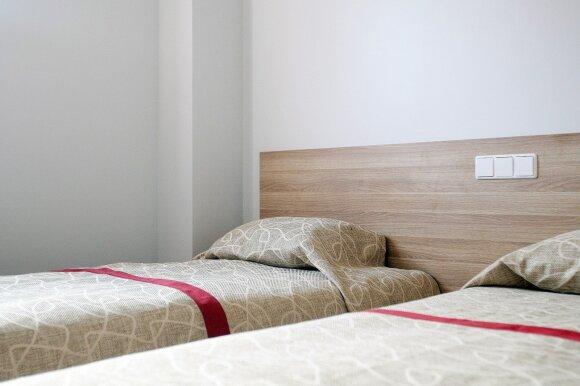 """Ilgalaikio apgyvendinimo kambariai viešbutyje """"Green Vilnius Hotel"""""""