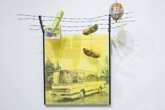 """V. Tomaševičius. """"Pabėgėliai išvyko, menininkai pasiliko"""" (2016)"""