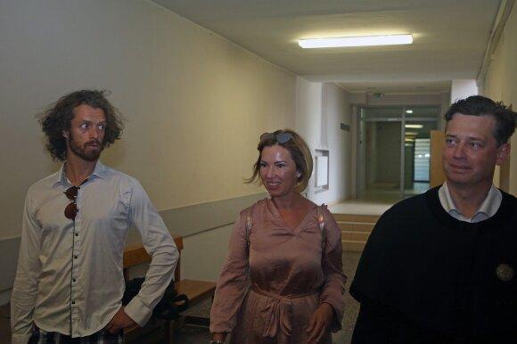Gintarės ir Marco Andre Canuel teismas