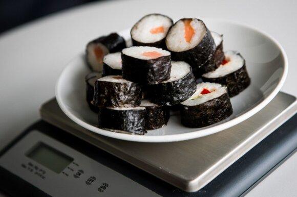 Maki suši ritinukai - 500 kcal