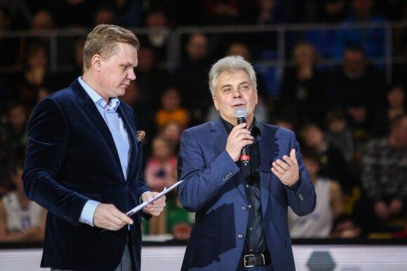 Mindaugas Stasiulis ir Alvydas Katinas