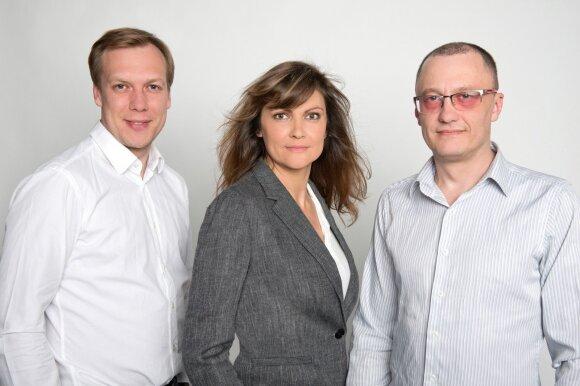 Raimonda Klimašauskaitė su komanda