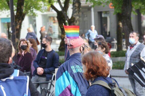 Kaune vyko bendruomenių protesto akcija prieš merą V. Matijošaitį