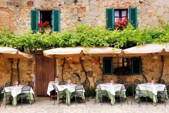 Mėgautis maistu... itališkai