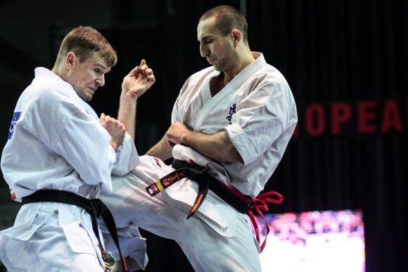 Vytautas Cėpla (kairėje) ir Valerijus Dimitrovas