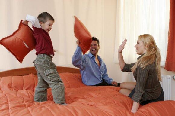 Ką su vaiku kokybiškai nuveikti per 10-15 min.
