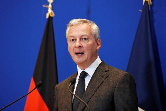 Prancūzijos ekonomikos ir finansų ministras Bruno Le Maire'as