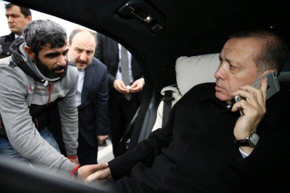 Turkijos prezidentas R. T. Erdoganas