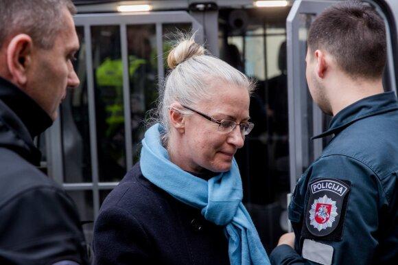 Venckienę prašė paleisti į laisvę už 10 tūkst. eurų užstatą, teismas nesutiko