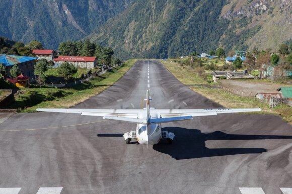 Luklos oro uostas Nepale