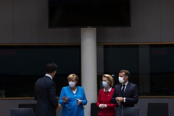 ES vadovų derybos dėl biudžeto
