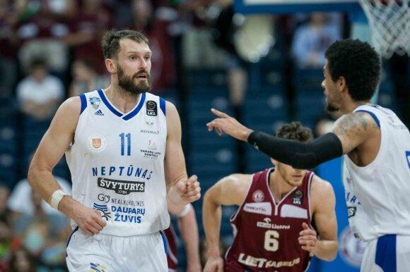 """Zavackas neslepia – krizę išgyvenęs """"Neptūnas"""" veršis diržus, bet vėl taikysis į medalius"""