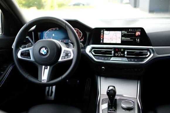 Naujo 3 serijos BMW testas: sportiškų formų atgavimas