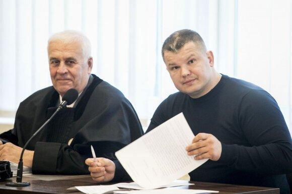 Tomas Ruchtinas ir advokatas Zigmantas Lipnevičius