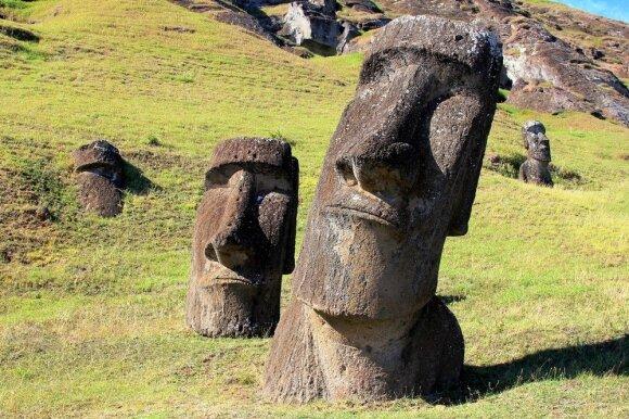 Išsiaiškino vieną iš Velykų salos skulptūrų paslapčių: tai radikaliai keičia sampratą apie jas