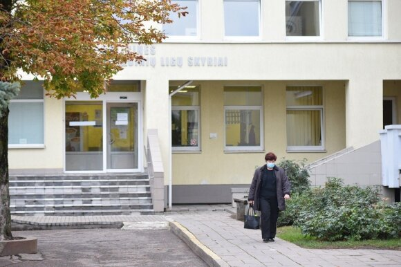 Respublikinės Panevėžio ligoninės infekcinių ligų klinika.