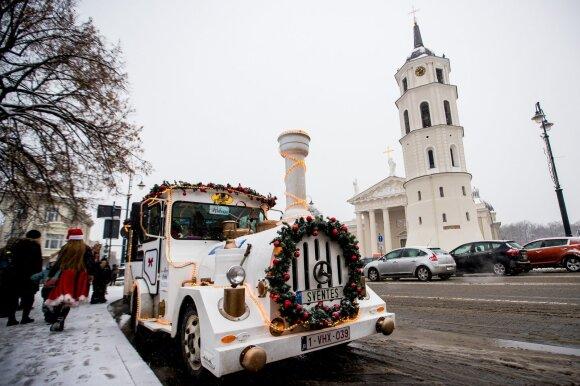 Kalėdinis DELFI traukinukas