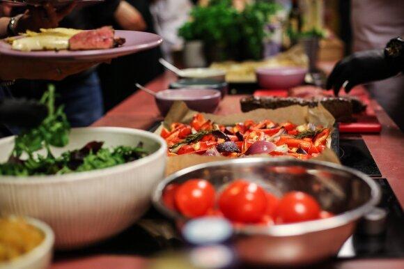 Itališka vakarienė Vilniuje