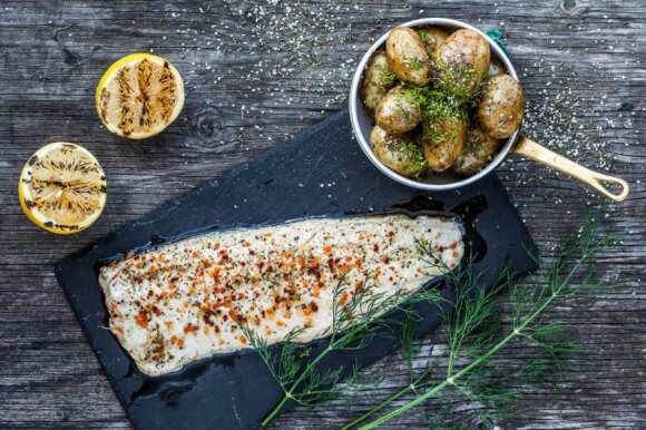 Dažniau vartodamas žuvį žmogus atsisveikintų su daugeliu ligų