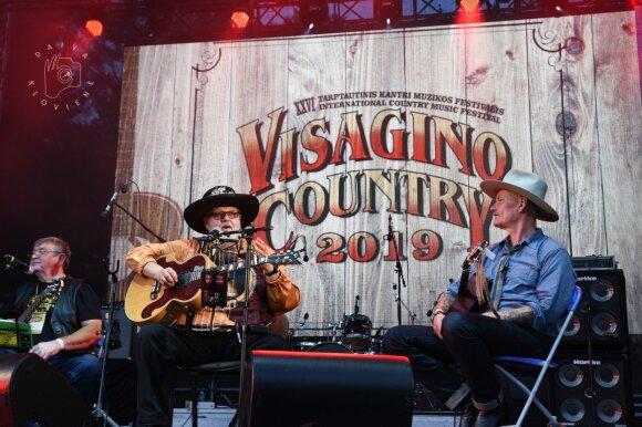 """Virgis Stakėnas festivalyje """"Visagino Country"""""""