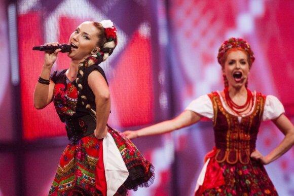 Lenkijos atstovės Cleo repeticija