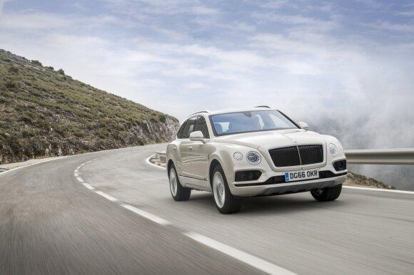 """Bentley Bentayga"" giminingas su ""Audi Q7"""