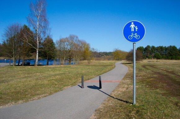 Keliamas tikslas, kad dviračiais būtų lengva pasiekti rekreacines zonas ir užmiestį