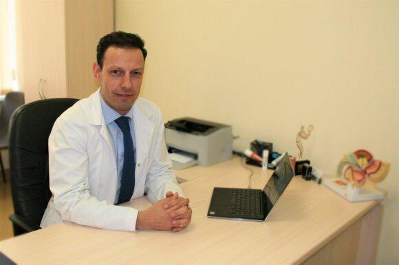 Gijos Klinikų urologas T.Simaška