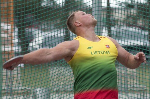 Palšytė paslydo ir patyrė traumą, Gudžius įvykdė olimpinį normatyvą
