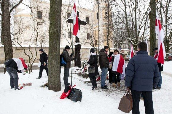 Белорусы Литвы требуют появления родного языка на памятниках повстанцам 1863-1864 гг