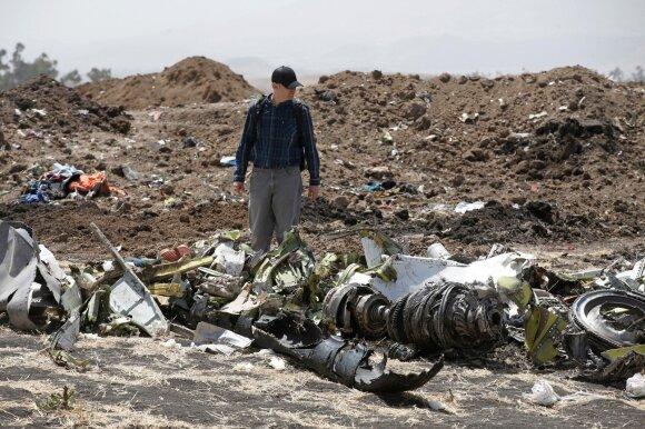 """Lėktuvo """"Boeing 737 MAX"""" katastrofa"""